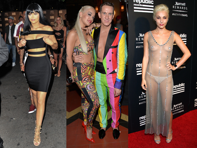 Everything everyone wore at the VMAs after parties