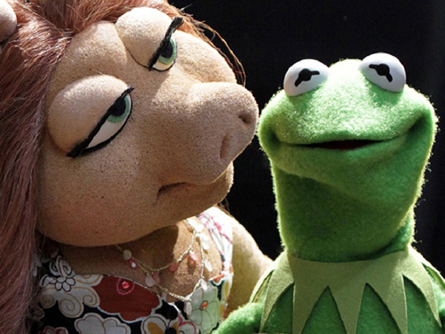 Kermit the Frog has moved on from Miss Piggy