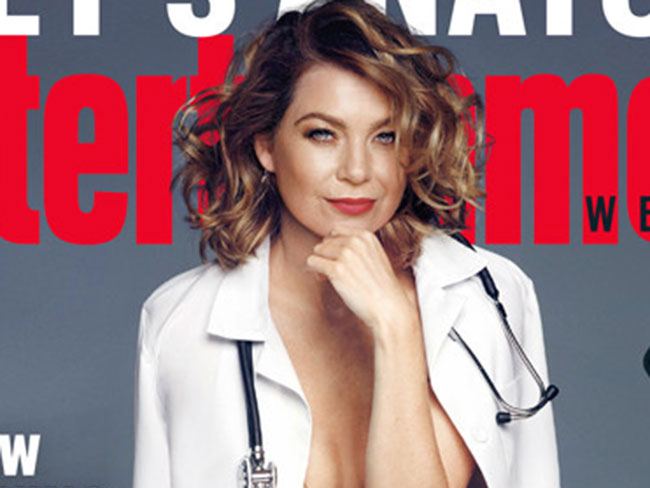 Meredith Grey gets naked, opens up about the death of McDreamy