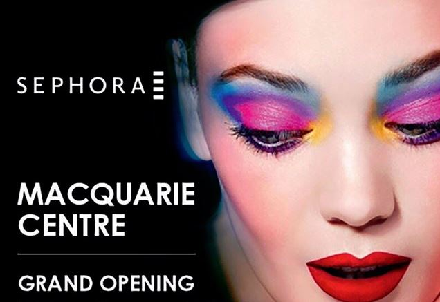 Second Sydney Sephora opening date confirmed