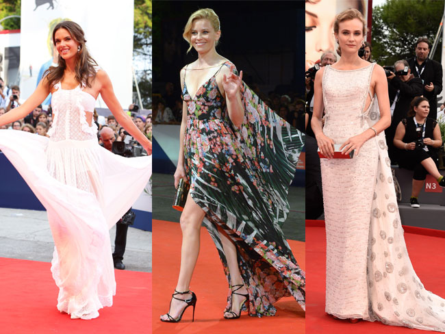 11 mind-blowingly beautiful dresses from the Venice Film Festival