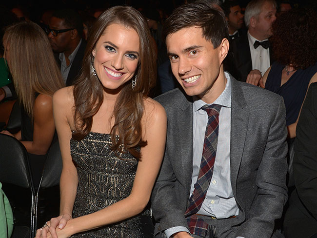 The back of Allison Williams' wedding dress is TO DIE for