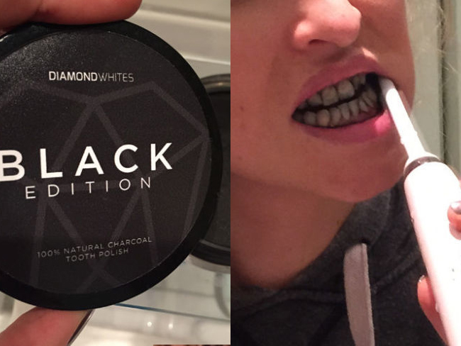 I used charcoal to whiten my teeth and it was amazing