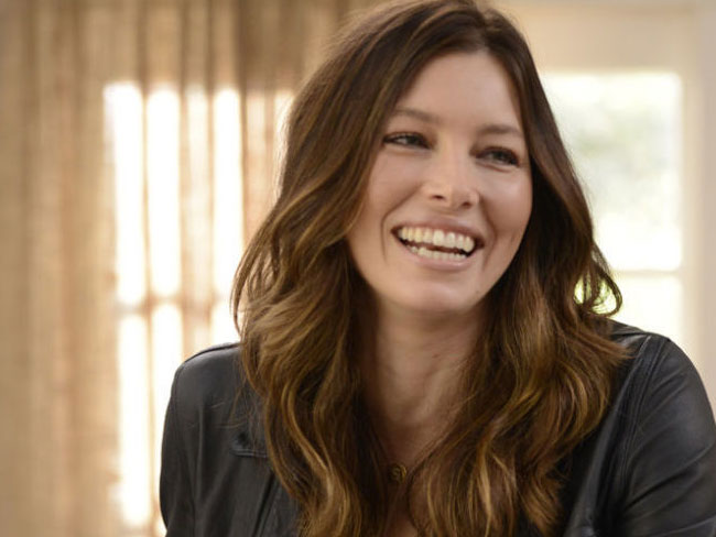 Jessica Biel talks about digging 'up there' for lost condoms