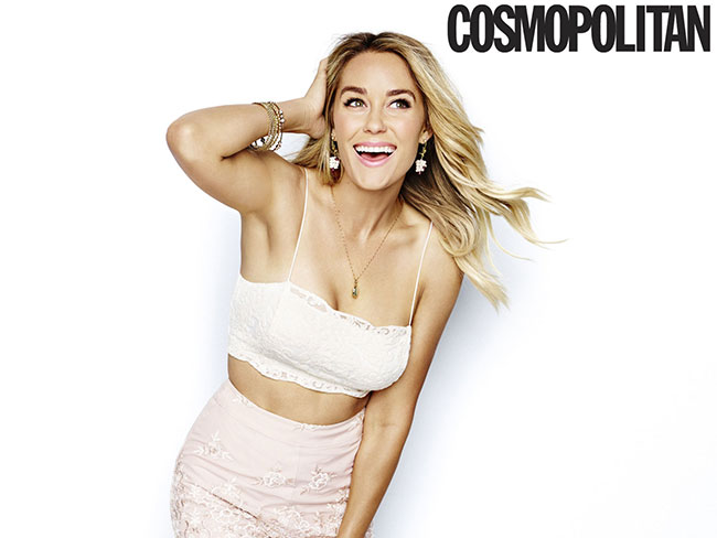 Lauren Conrad says she's pretty basic, but pretty happy