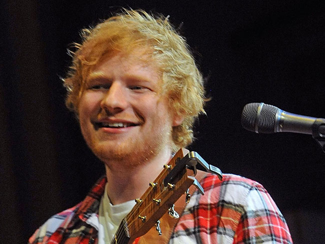 Ed Sheeran is becoming an ordained minister so he can marry Monica from Friends