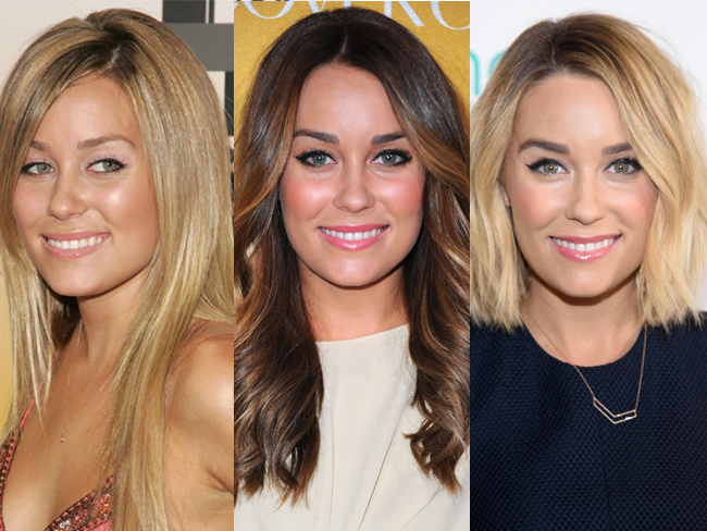 The beauty evolution of our cover star Lauren Conrad