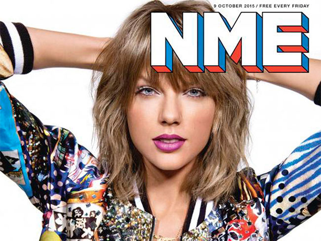 Shock horror: Taylor Swift's taking a break from music