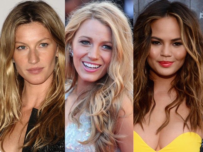 17 celebs rocking your dream beach hair