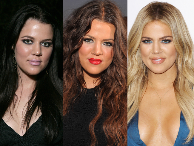 Khloé's beauty transformation is INSANELY good