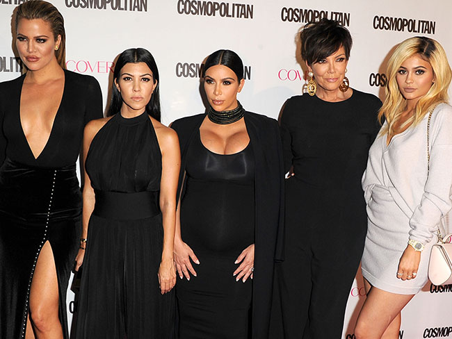 The Kardashians totally stole the show at Cosmo's 50th birthday