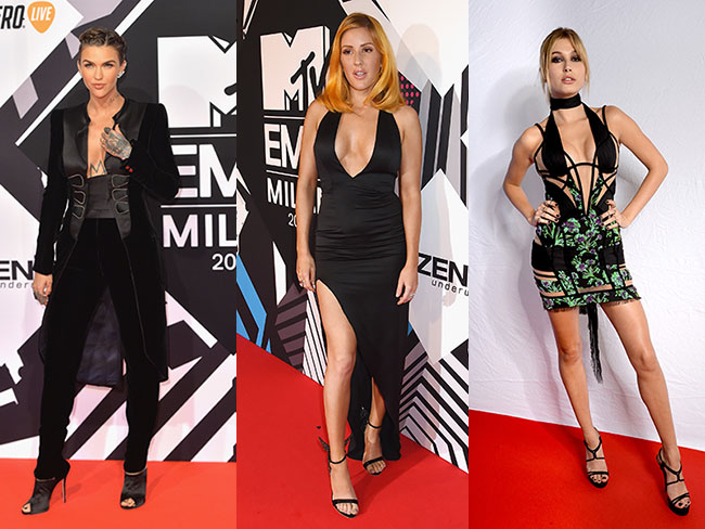 All the looks from the 2015 MTV EMAs