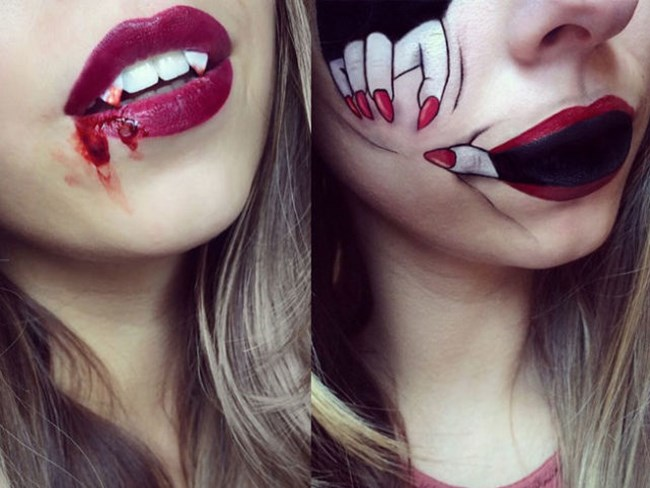 These moody Halloween lip creations are EVERYTHING