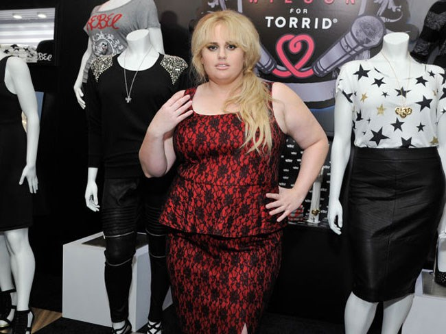 Rebel Wilson has designed a fashion collection for plus ...