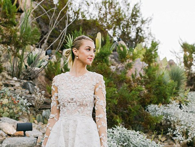 Whitney Port wins the wedding dress game - hands down