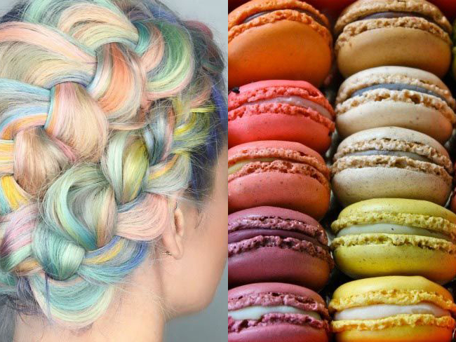 The macaron hair trend is the SWEETEST yet