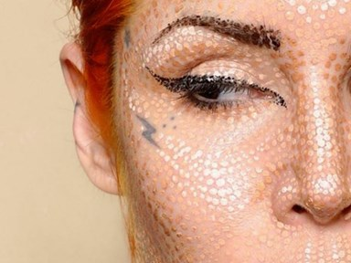 Kat Von D's pointillism makeup tutorial will BLOW YOUR MIND