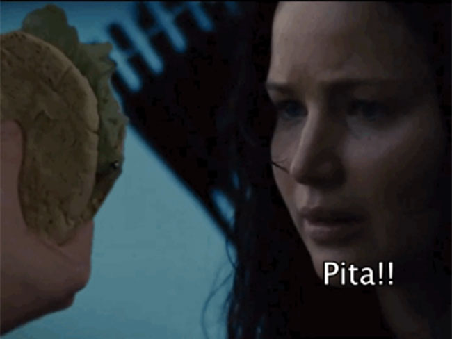 Amazing Hunger Games video of Katniss Everdeen longing for 'Pita' will make your sides split