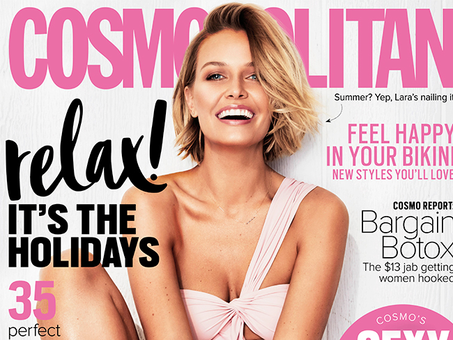 Lara Bingle is our new cover girl and just LOOK AT HER