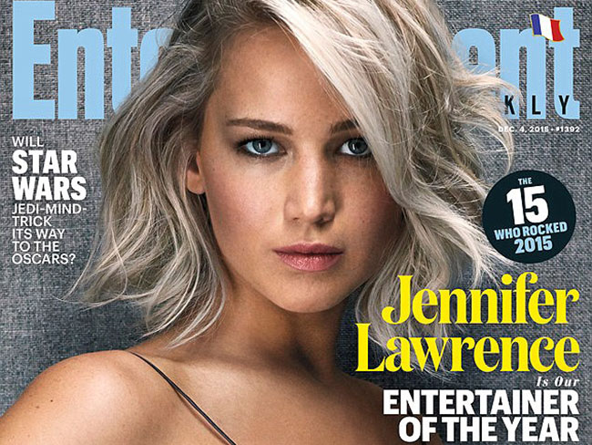 Jennifer Lawrence reveals her favourite moment of 2015