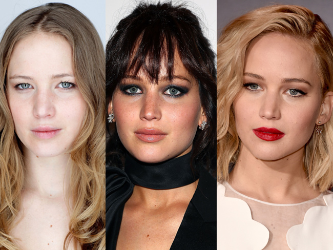Jennifer Lawrence's beauty evolution will blow your flippin' mind