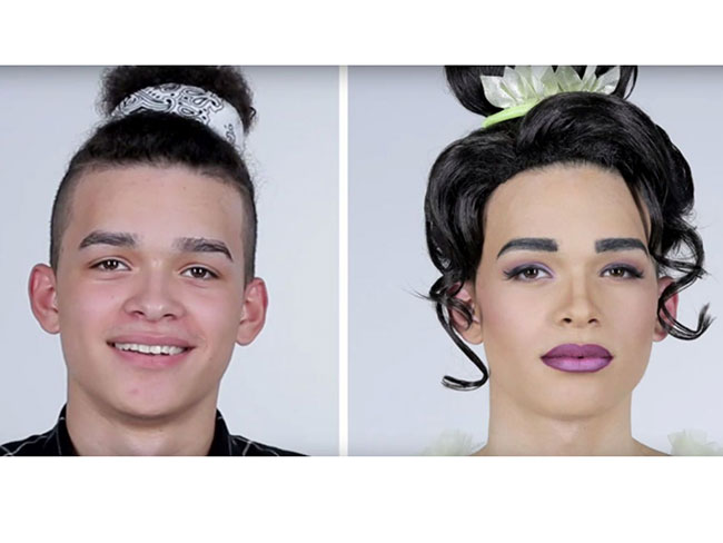 Watching men get Disney princess makeovers is the most fun ever