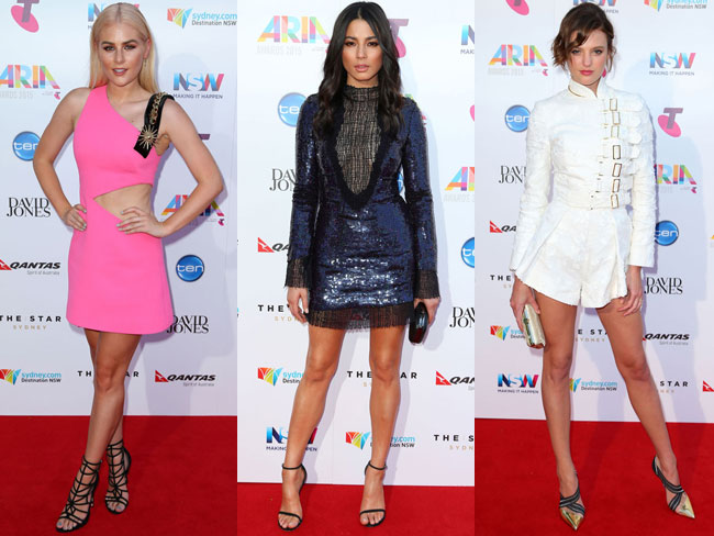 The best red carpet looks from the 29th ARIA Awards
