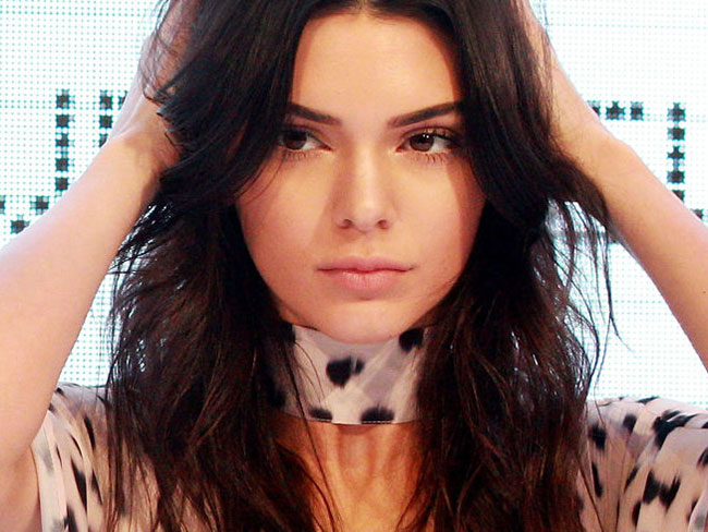Kendall Jenner's hair texture hack is uber easy
