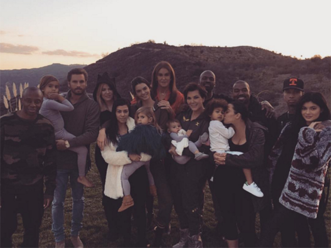 This is how celebrities are doing Thanksgiving 2015