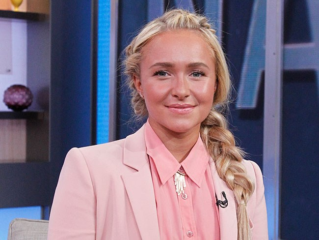 Hayden Panettiere pictured for first time since post-natal depression announcement