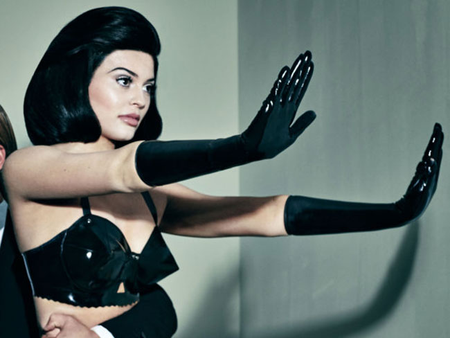 Holy bum cheeks, Kylie Jenner has 'done a Kim' in Interview magazine shoot