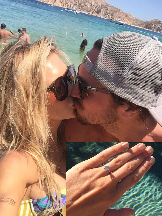 """Audrina Patridge recently revealed on her [website](http://audrinapatridge.com/