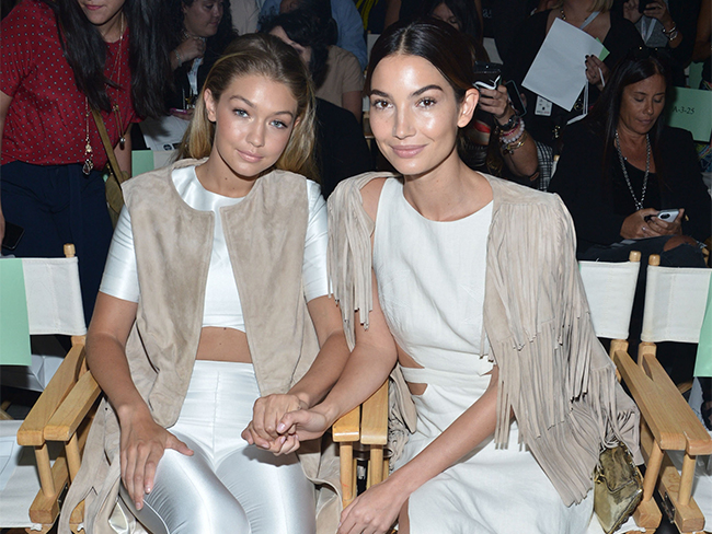 Gigi Hadid touched vaginas with Joan Smalls and Lily Aldridge