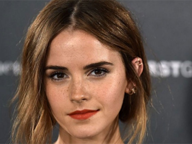 Emma Watson spent half her life pretending to be someone else