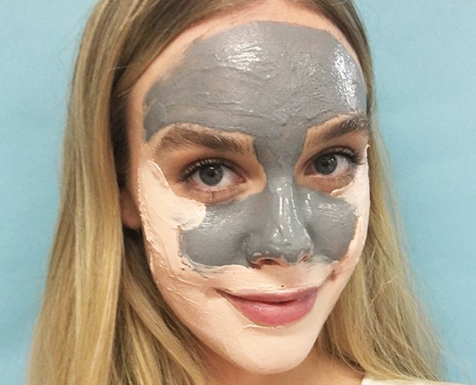 11. Layer two (or more) face masks to treat different skin concerns. For example, apply a mask formulated for oily skin in your t-zone and another mask for hydration on dry areas.