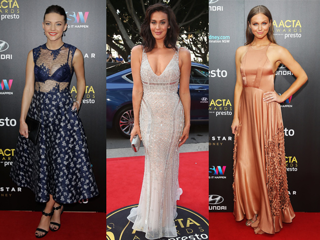 The hottest red carpet looks from the 2015 AACTA Awards