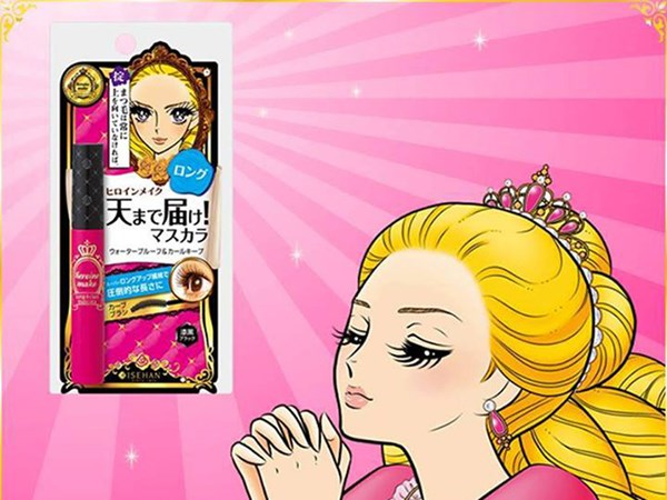 The Japanese mascara Kiss Me Heroine Long & Curl is unstoppable, literally