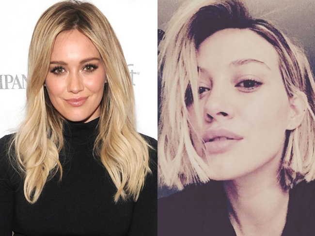 Celeb hair changes