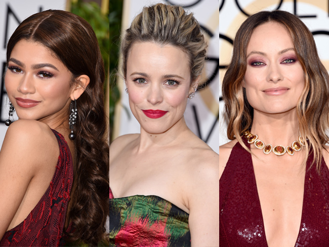 18 of the best beauty looks from the 2016 Golden Globes