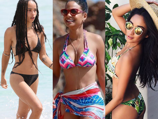 The very hottest celebrity swimwear