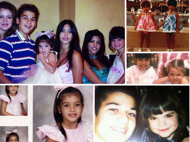 38 unrecognisable photos of the Kardashians