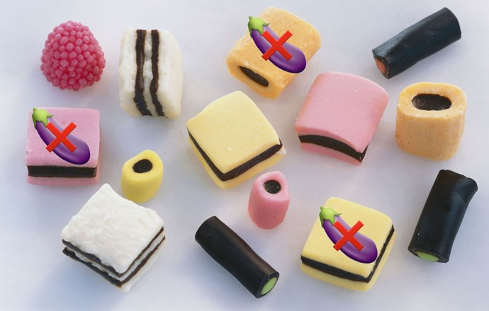 """**5. Liquorice** Look, it's unlikely you'll share a bag of Licquorice Allsorts over a date, but you never know. And just in case the idea is ever toyed with, say NO. Why? """"This plant is often used in candies, herbal teas and other drinks,"""" says Frida.""""While delicious, it contains phytoestrogens, which affect the levels of testosterone in the body (both men and women have testosterone), weakening your sexual desire."""""""