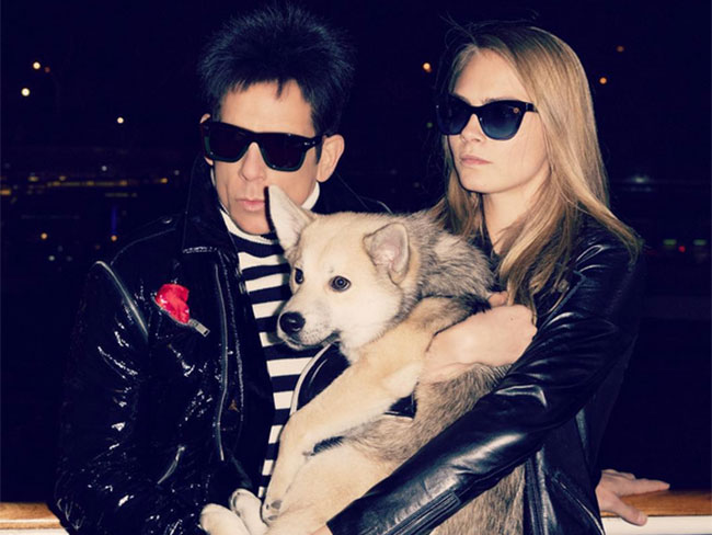 Cara Delevingne and Derek Zoolander had a casual #WalkOff by the Eiffel Tower (as you do)