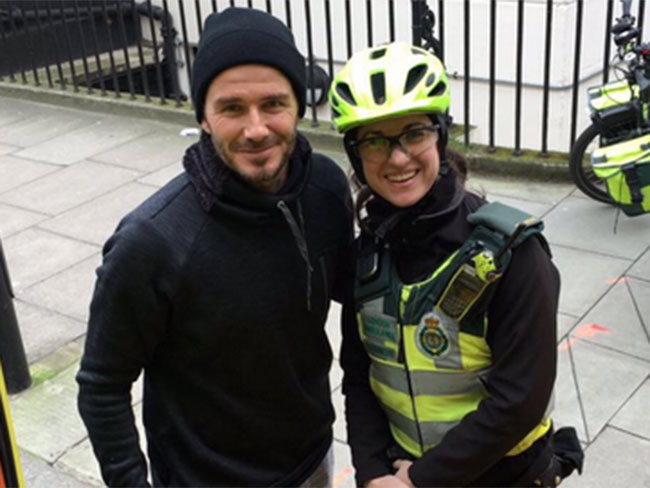 David Beckham proved he's the world's most perfect specimen with this random act of kindness