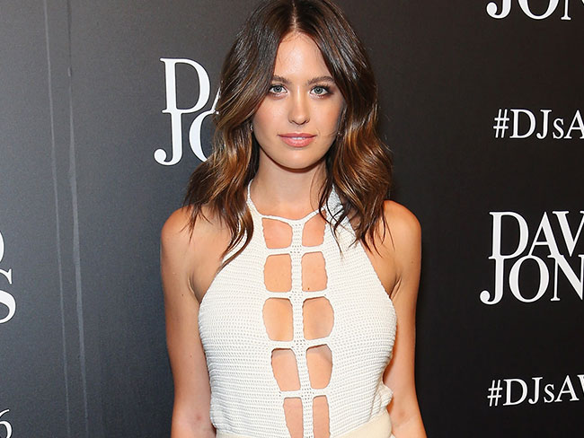 See our covergirl, Jesinta Campbell, SLAY on the David Jones runway