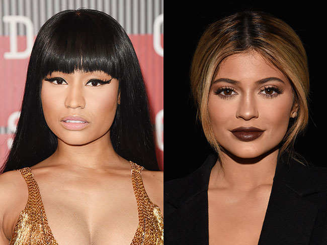 Nicki Minaj likens Kylie Jenner's lips to her vagina and WTAF?!