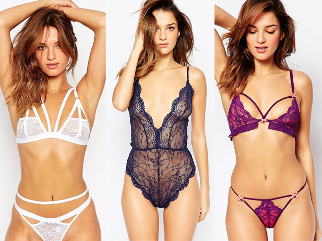 All of the super sexy lingerie that's perfect for Valentine's Day