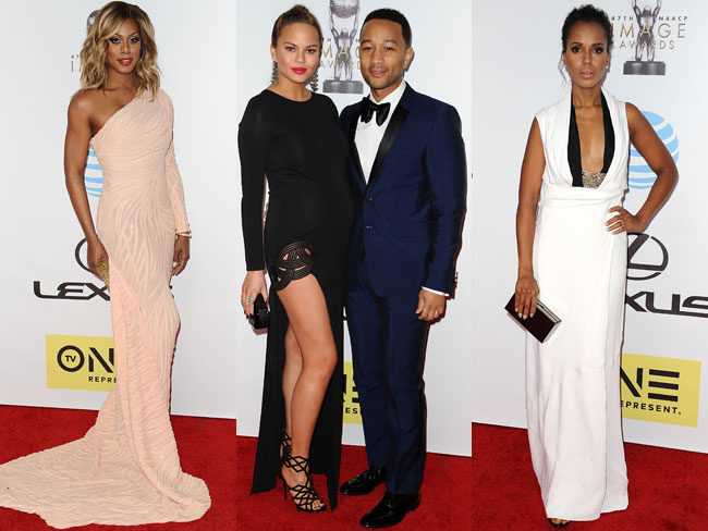 All of the red carpet looks from the NAACP Awards