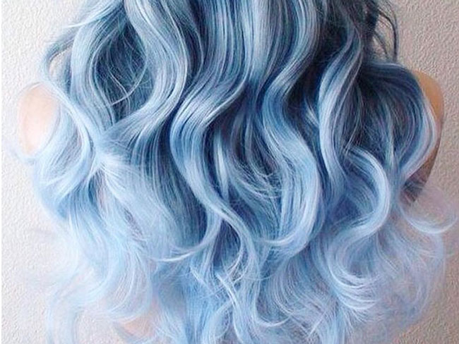 Denim for hair is the newest beauty trend