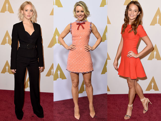 All of the best looks from the Academy Awards Luncheon